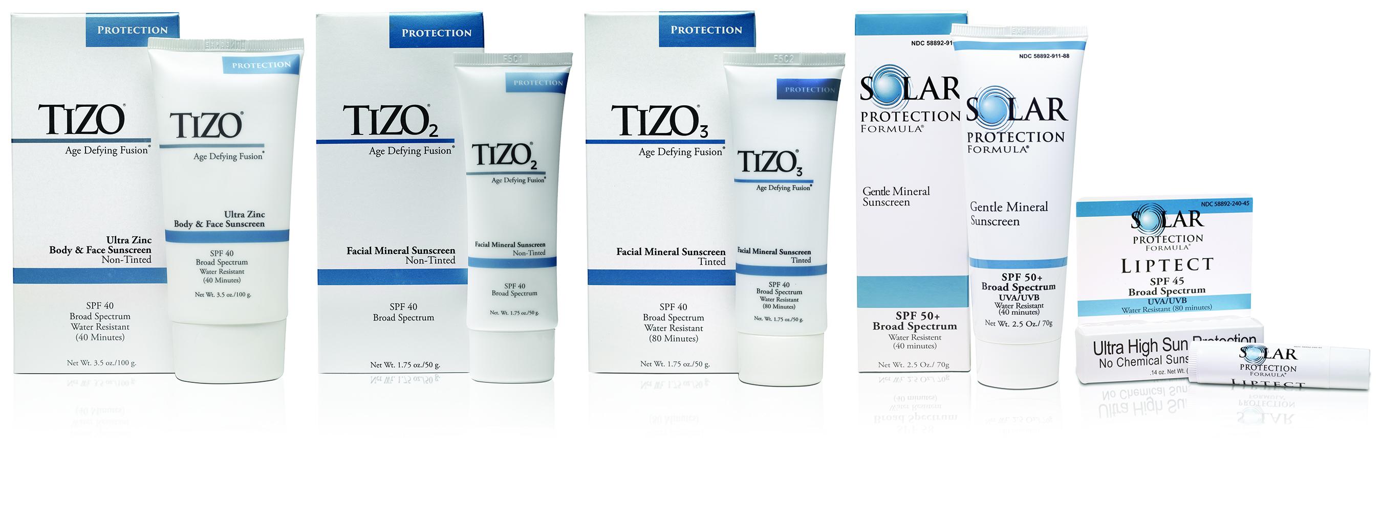 Medical-Grade Skin Care Products TiZO